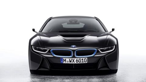 BMW i8 Mirrorless concept frontal