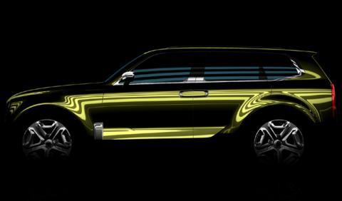 Kia presentará un SUV de grandes dimensiones en Detroit