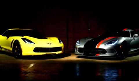 Corvette Z06 vs Viper ACR: duelo de altura