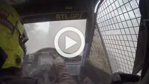 Vídeo: ¡Vaya día de Tom Coronel en el Dakar!