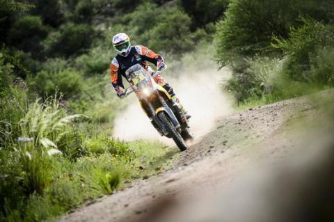 Dakar 2016: Motos. Etapa 6: Price presenta su candidatura