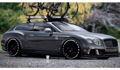 ¿Imaginas un Bentley Continental Shooting Brake?