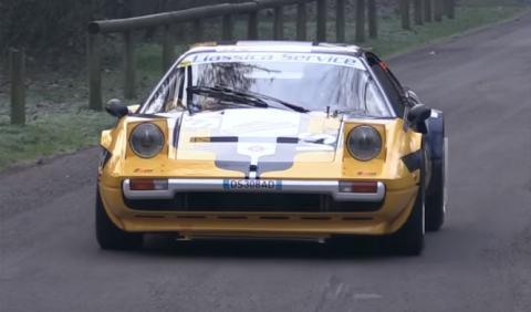 ¿Acaso pensabas que un Ferrari no vale para rallys?