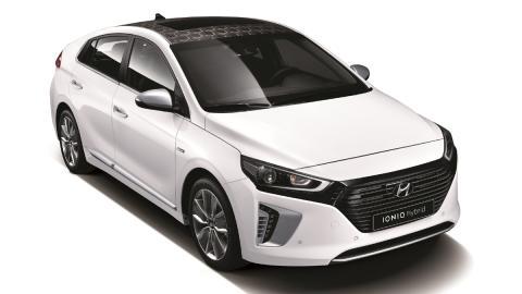 Hyundai Ioniq delantera