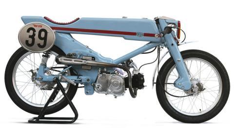 Un Honda Super Cub en manos de Deus ex Machina, buena idea
