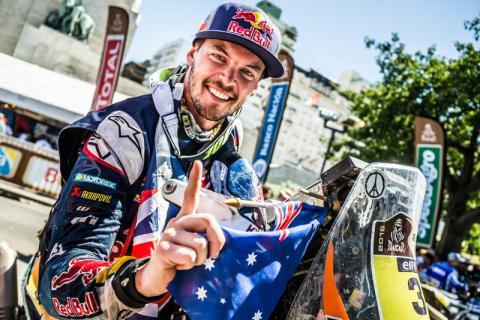 Dakar 2016: Toby Price, un campeón que quiere ser leyenda