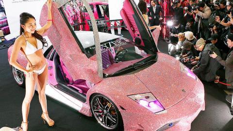 Lamborghini Murciélago de Swarovski