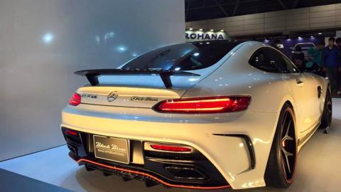 Mercedes-AMG GT Wald International trasera