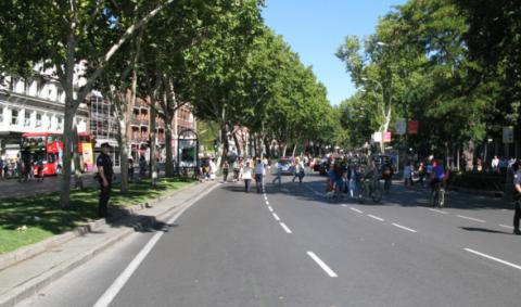 Madrid podrá prohibir los coches al 100%