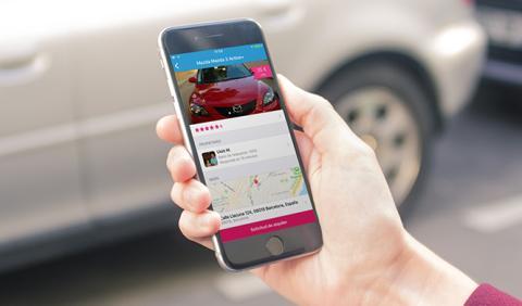 Drivy incorpora una app para alquilar coches desde el móvil