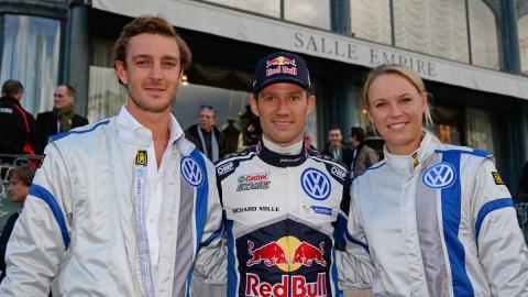 VW hace del de Montecarlo el rally más glamuroso