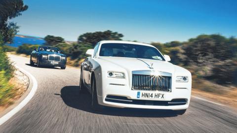 Cazado el restyling del Rolls-Royce Wraith