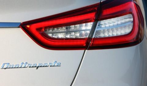 Maserati Quattroporte 2017: cazado el restyling