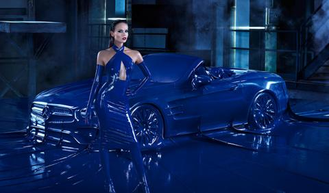 Natasha Poly Mercedes Benz