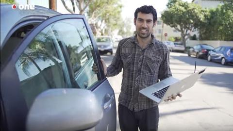 Así se abre un coche con un ordenador