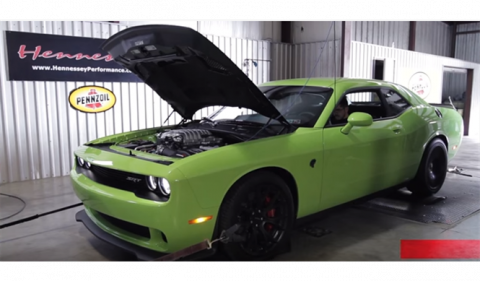 Dodge Challenger Hellcat HPE850 by Hennessey
