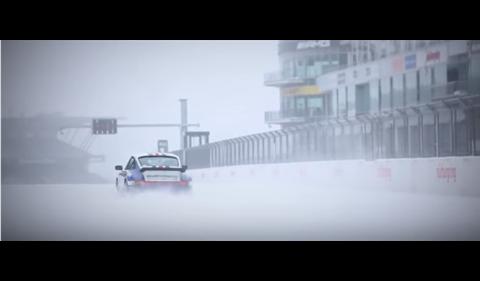 Vídeo: un Porsche 911 del Grupo B, en Nürburgring con nieve