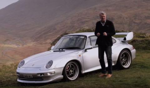 Charles Morgan a los mandos del Porsche 911 GT2 (993)