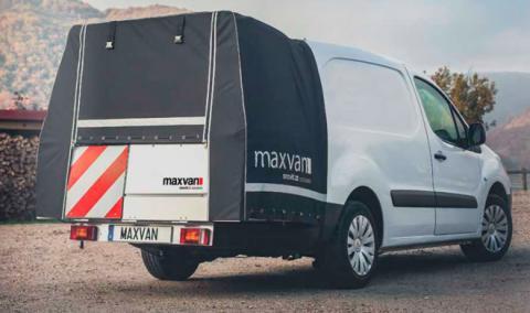 Maxvan, el revolucionario sistema para ganar maletero
