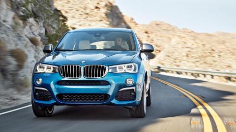 Cazado por primera vez el futuro BMW X3 M40i