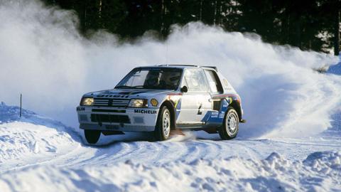 Peugeot 205 T16 C11 Suecia