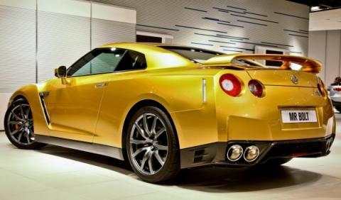 Un Nissan GT-R... ¿de oro?
