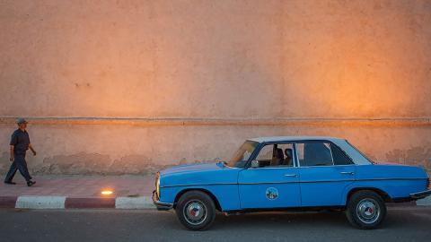 taxi marruecos 25 años funciona