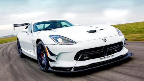 Prueba: Dodge Viper ACR. El Viper más rápido de la historia