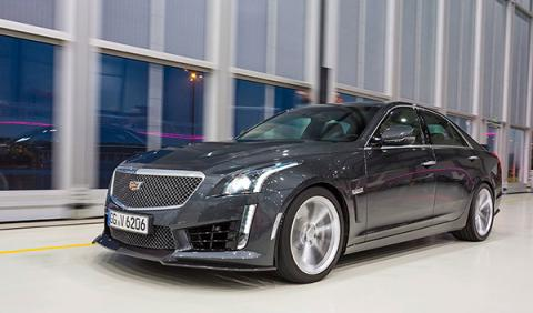 Duelo: Cadillac CTS-V/Audi RS 7/BMW M6/ Mercedes AMG CLS