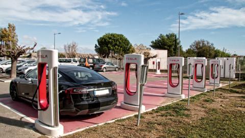 Cargadores Tesla en España