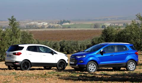 SUV menos cualidades off road Ford ecosport