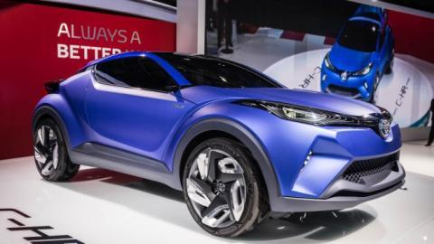 El Toyota C-HR irá a Nürburgring antes que al concesionario