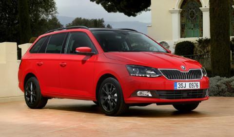 mejores coches nuevos de entre 10.000 15.000 euros Skoda Fabia Combi