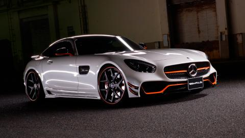 Mercedes AMG GT Black Bison Edition, estática