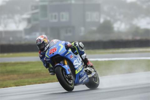 Viñales Phillip Island Test MotoGP