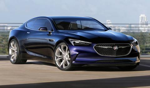 Buick Avista: podría derivar en un coupé de cuatro puertas