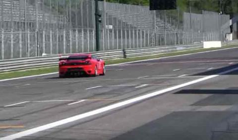 El Ferrari F430 doble turbo de carreras de un millonario
