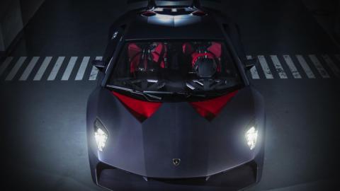 Lamborghini Sesto Elemento Hong Kong