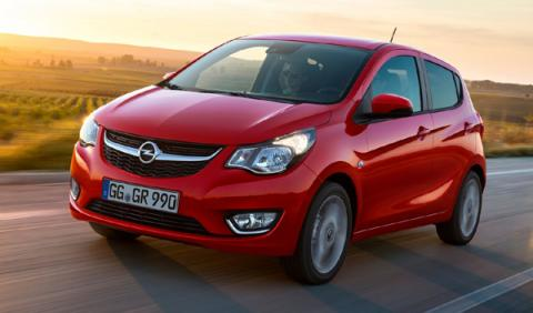 mejores coches nuevos entre 9.000 12.000 euros Opel Karl