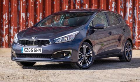 mejores coches nuevos entre 9.000 12.000 euros Kia Cee´d