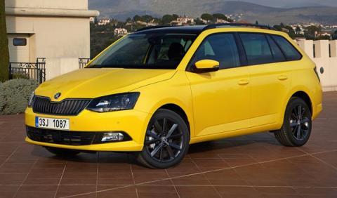 mejores coches nuevos entre 9.000 12.000 euros Skoda Fabia Combi