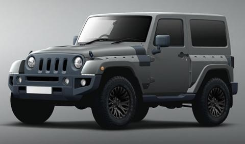 Jeep Wrangler 'Halcón Negro', debut en Ginebra