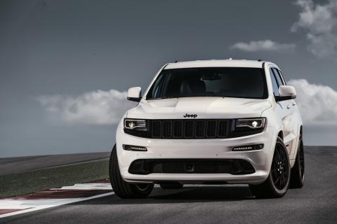 Jeep Grand Cherokee SRT Night frontal