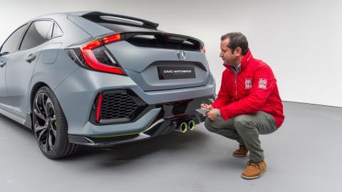 Honda Civic Hatchback Concept 2016