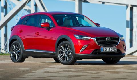 mejores coches menos 20.000 euros Mazda CX-3