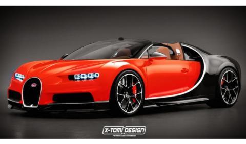 Bugatti Chiron Grand Sport: así lo imaginan