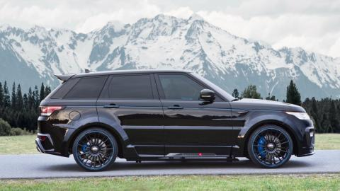 Range Rover Sport Mansory lateral