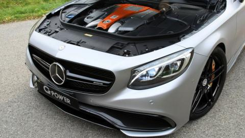 Mercedes-AMG S63 by G-Power motor