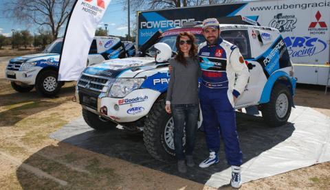 Entrevista a Rubén Gracia, piloto Mitsubishi en el Dakar