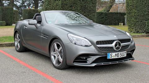 Mercedes SLC 2016 calandra